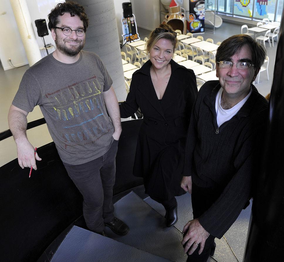 Nancy Florence Savard, Pierre Gréco et Philippe Arsenault Bussières