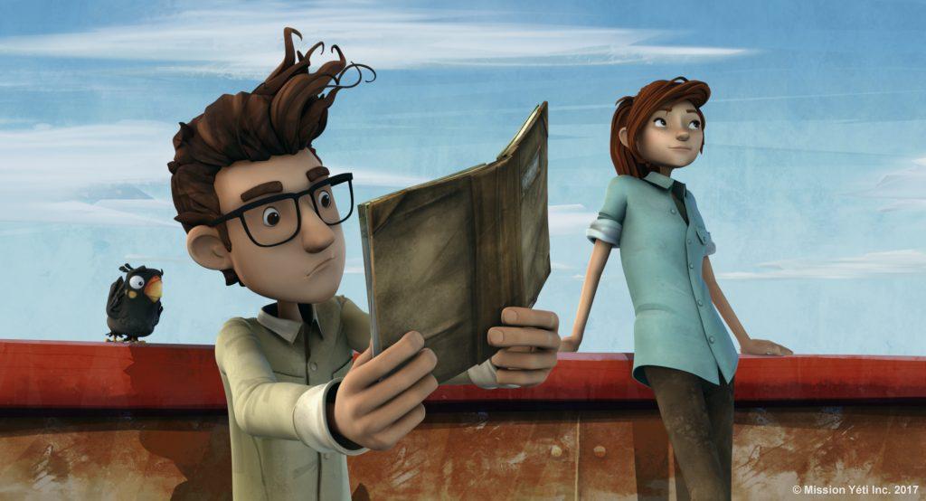 Nelly et Simon : Mission Yéti, long métrage CGI animation