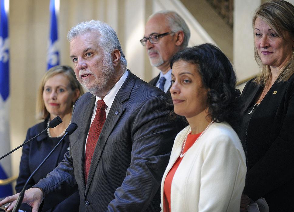 Le gouvernement Couillard a finalement trouvé les quatre personnalités d'affaires qui assureront la représentation de la Capitale-Nationale, dont Nancy Florence Savard