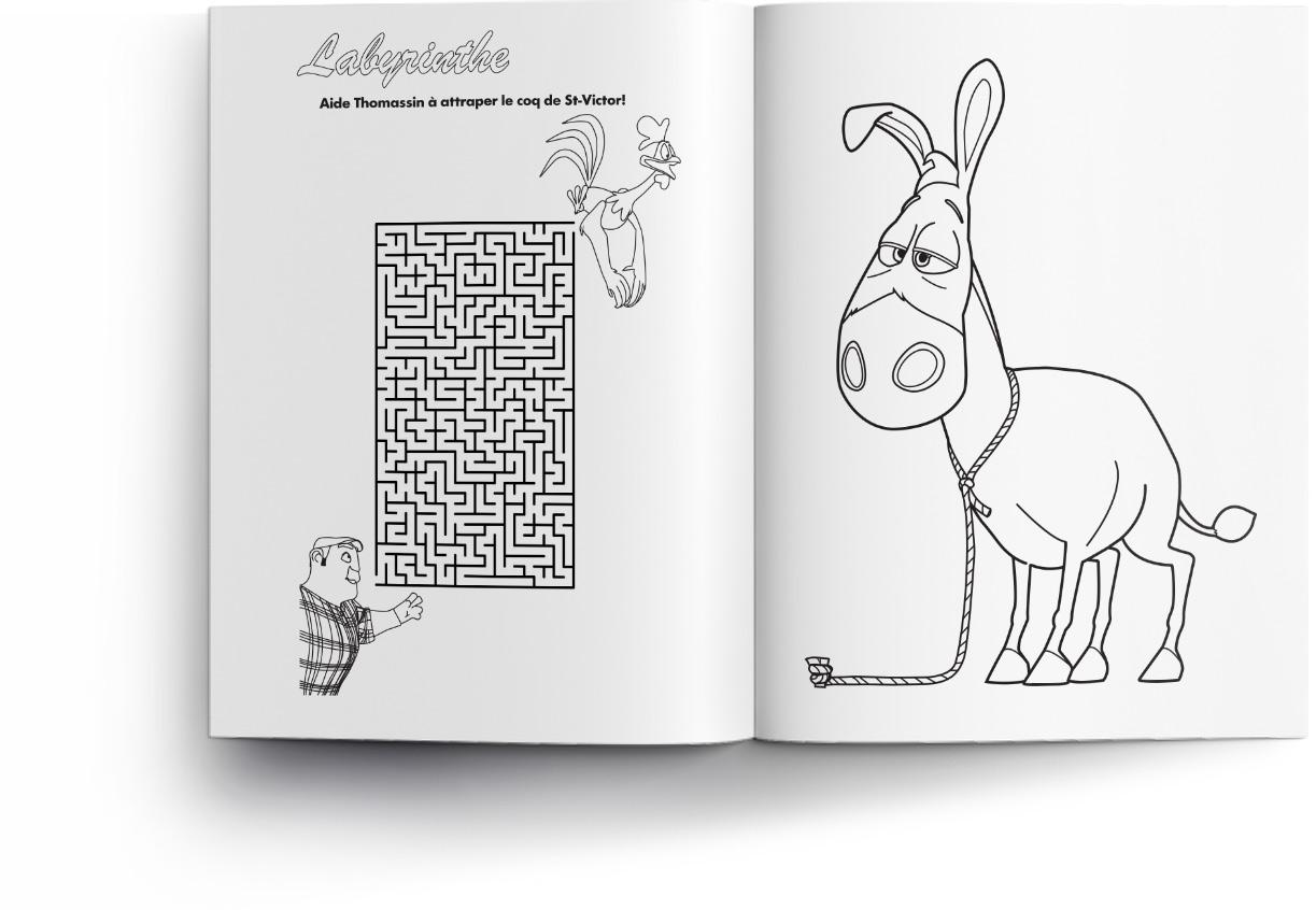 Le Coq de St-Victor : jeux, dessins, games, drawings