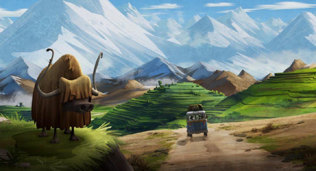 Himalaya : magnifique décor du film Mission Yéti