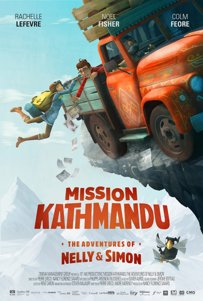 Mission Kathmandu : The Adventures of Nelly & Simon