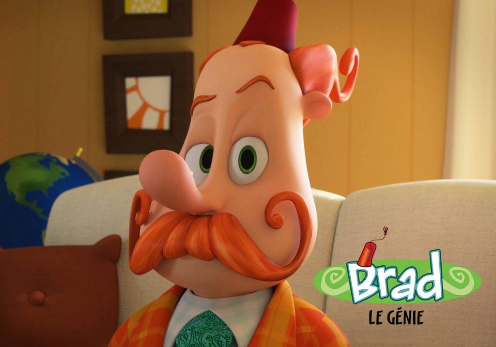 Brad le génie, long métrage en développement - © Productions 10e Ave
