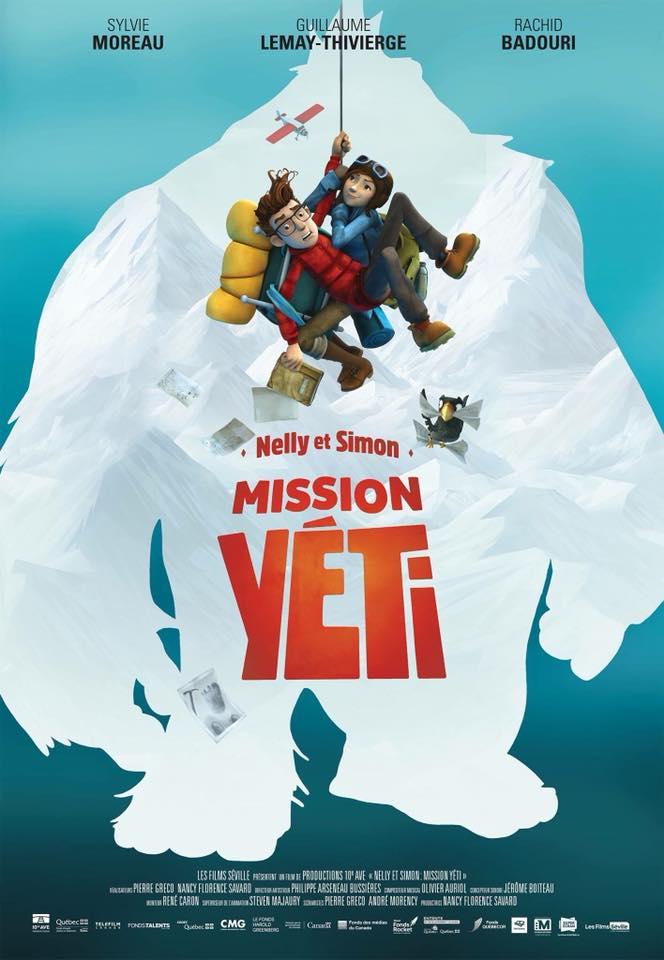 Mission Yeti Film animation 10Ave @2018