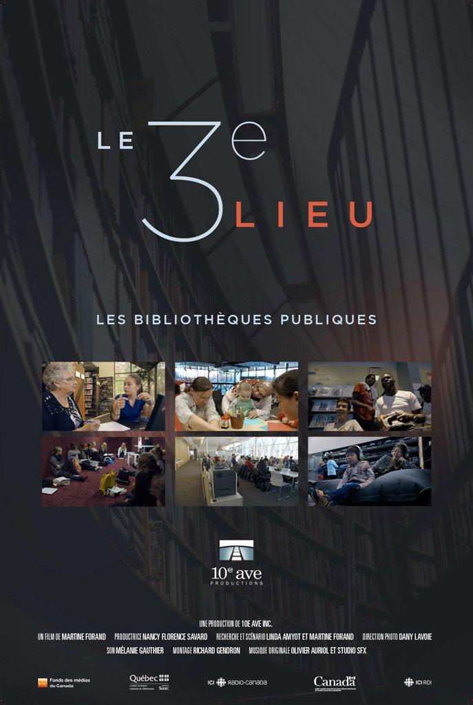 Le 3e lieu : les bibliothèques publiques - un documentaire de Productions 10e Ave