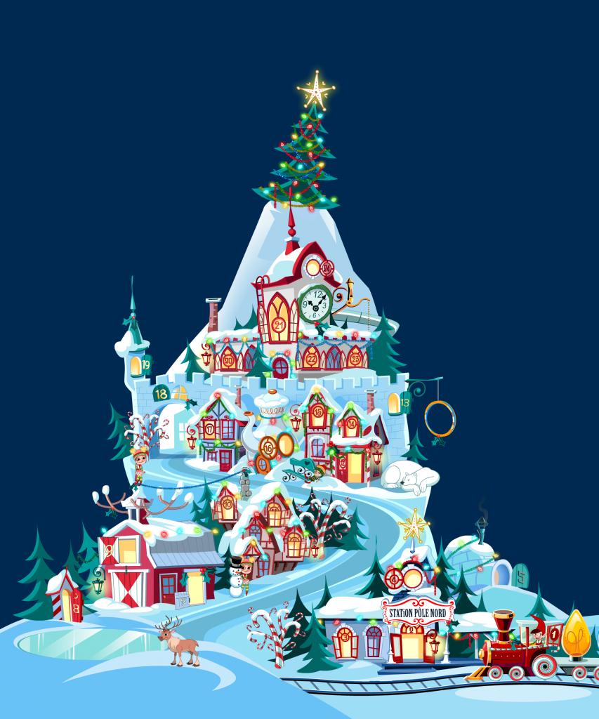 Surprise pour le Père-Noël - Jeux Web Productions 10e Ave Éditions 10e Ave