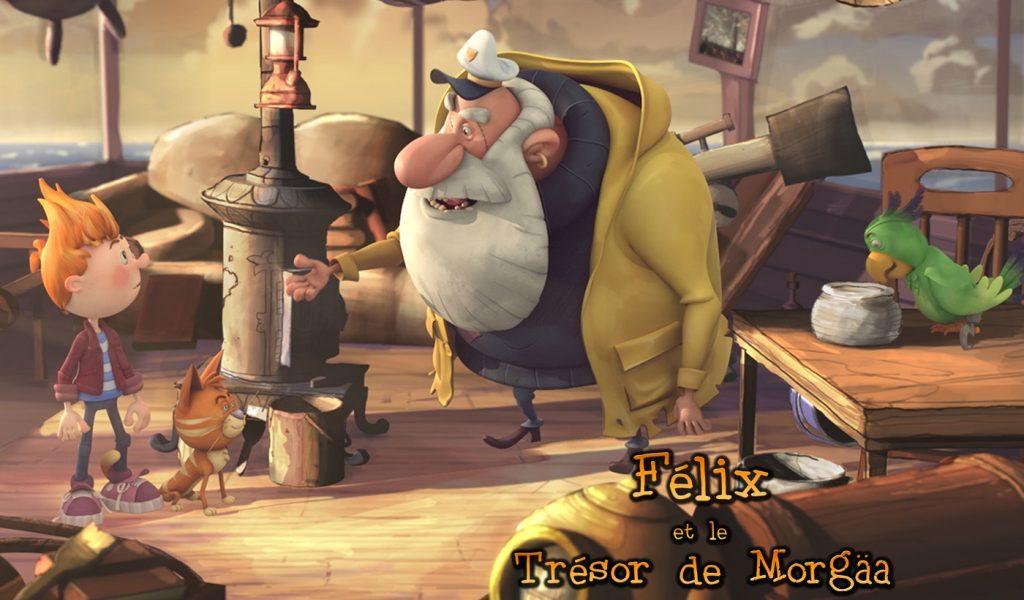 Félix et le trésor de Morgäa - Productions 10e Ave