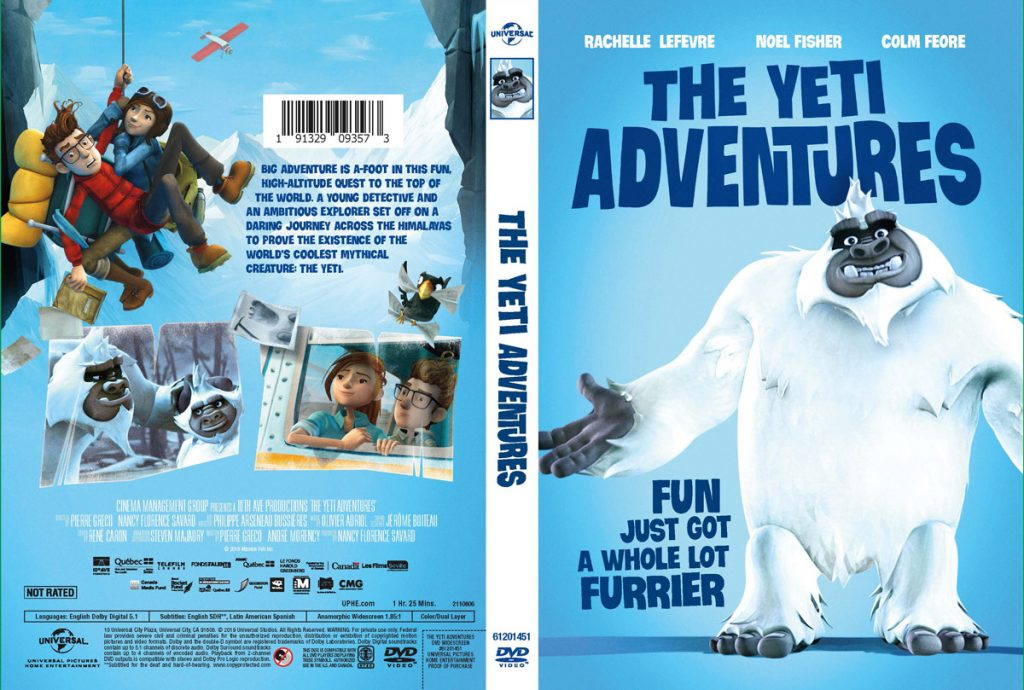 DVD The Yeti Adventures Movie now in the USA