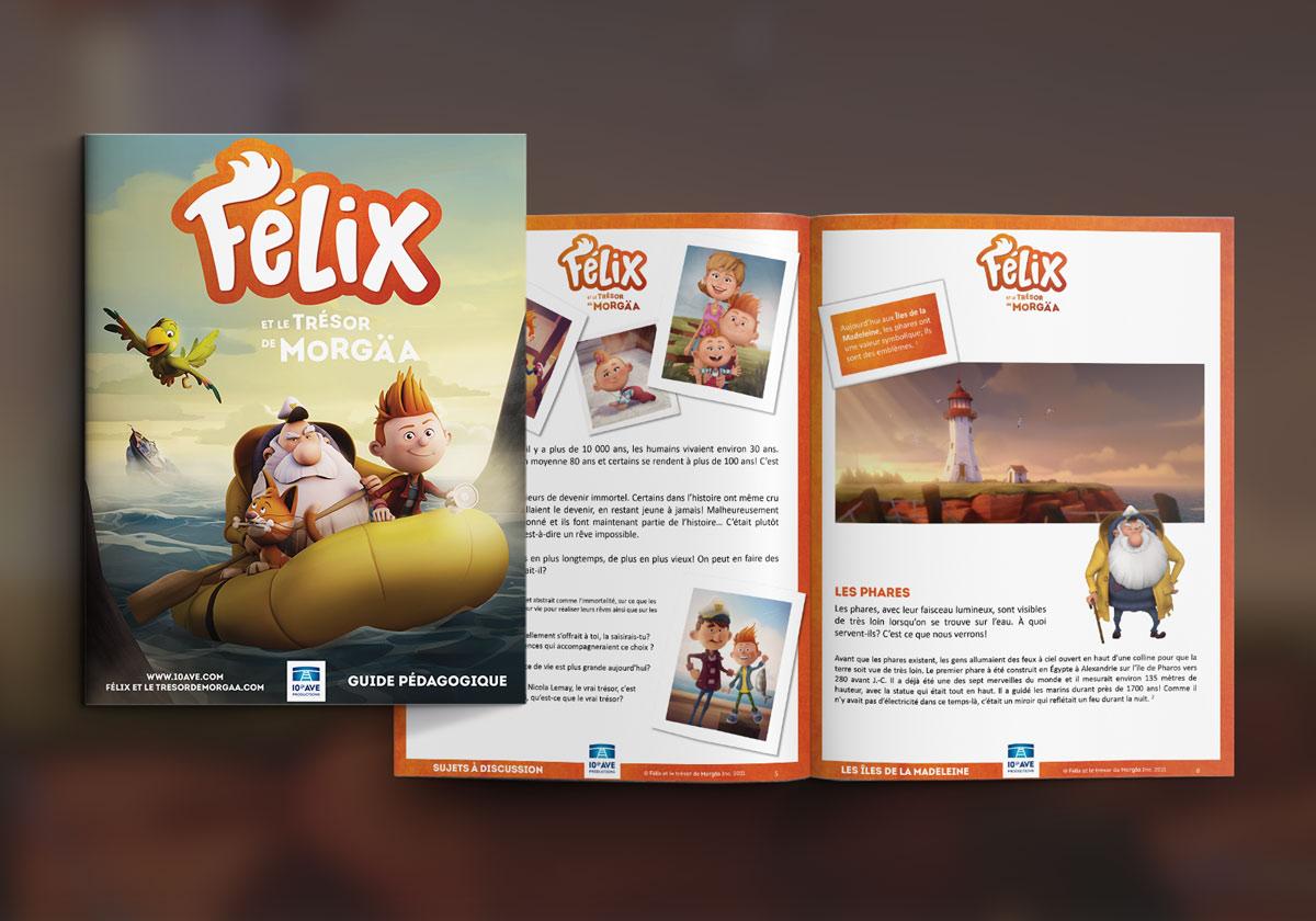 Guide pédagogique Félix et le trésor de Morgaa
