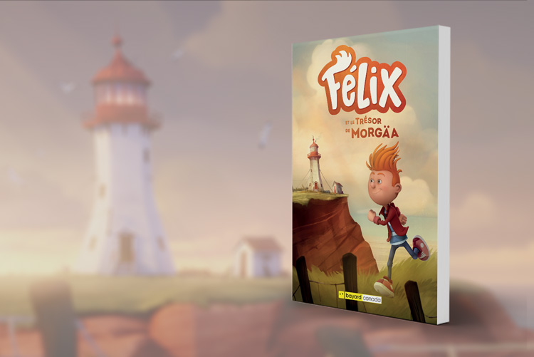 Felix et le tresor de Morgaa livre roman